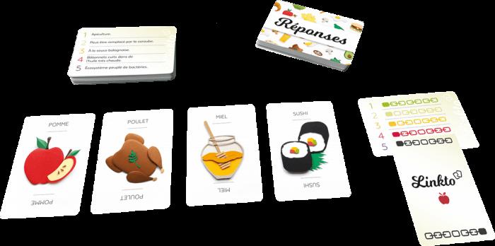 linkto cuisine cartes jeu cooperatif