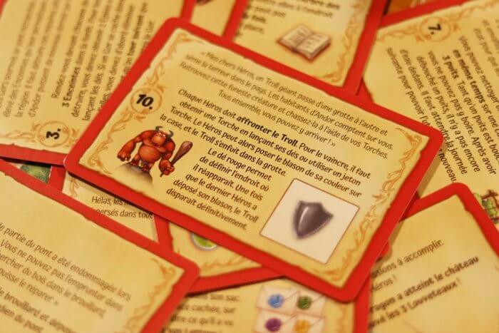 Andor Junior cartes jeu collaboratif