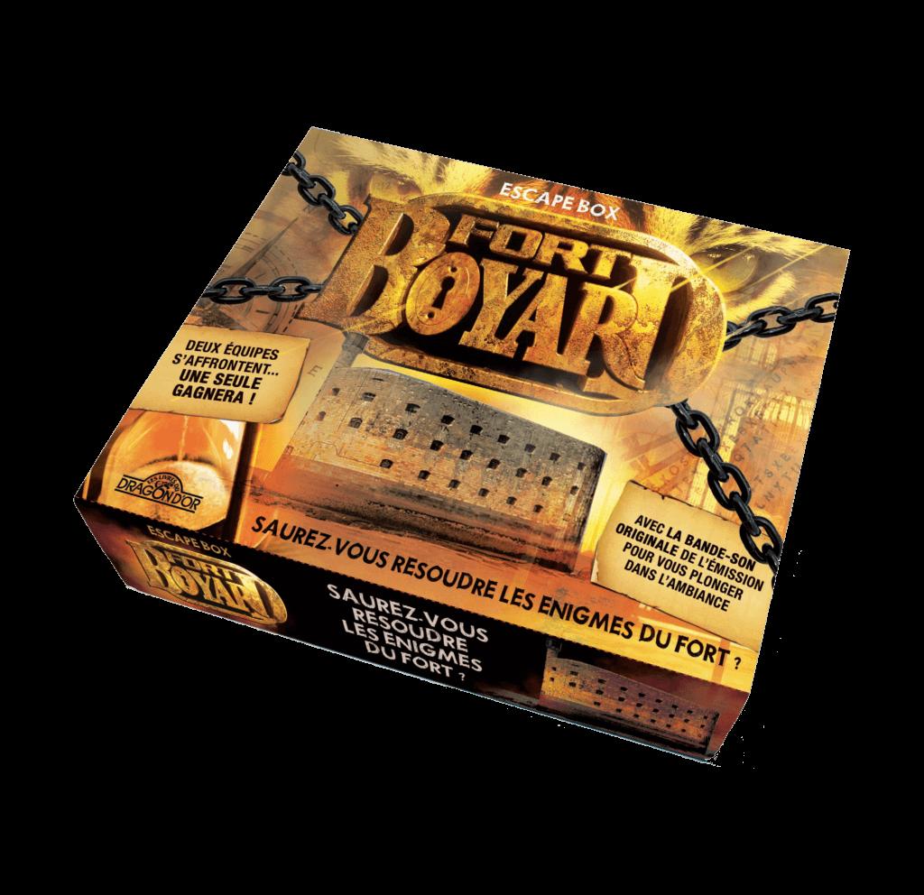 Escape Box Fort Boyard Jeu collaboratif