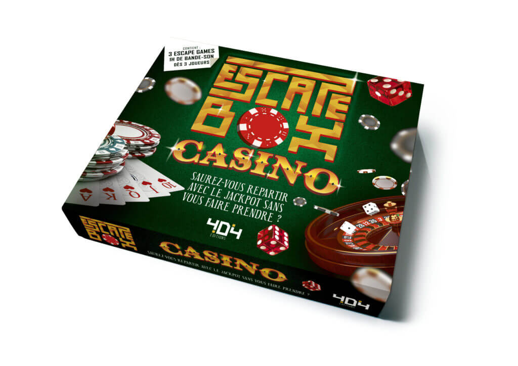 escape box casino Jeu collaboratif