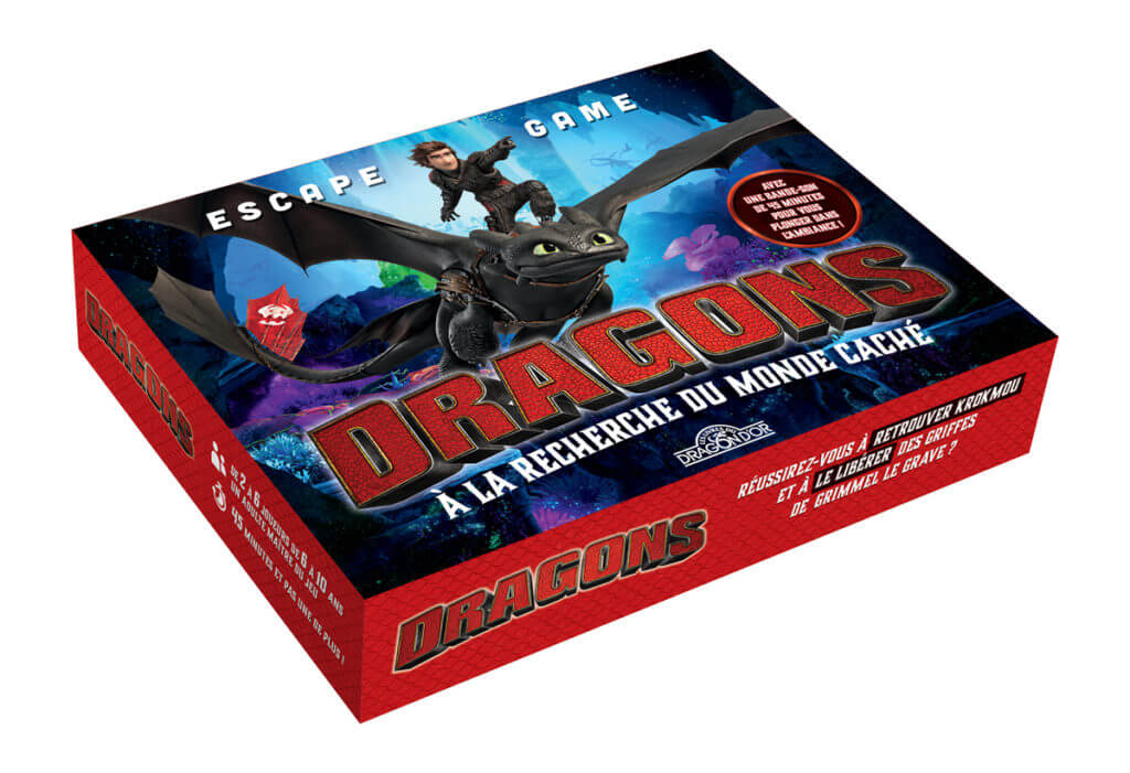 escape box dragons Jeu collaboratif