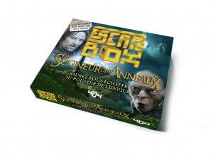 escape box le seigneur des anneaux Jeu collaboratif