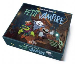 escape box petit vampire Jeu collaboratif