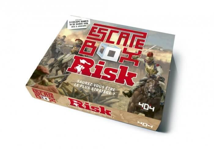 escape box risk Jeu collaboratif