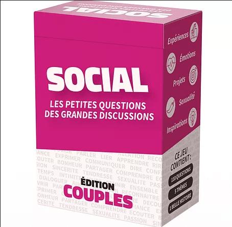 Social edition couples - outil relationnel et jeu cooperatif
