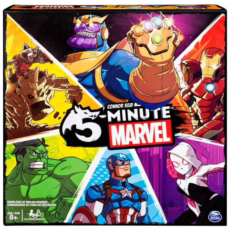 5 minute marvel jeu collaboratif