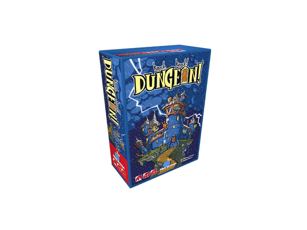 Knock Knock Dungeon-3DBox- jeu collaboratif