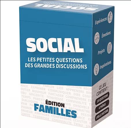 Social - Edition Familles - Jeu outil relationnel