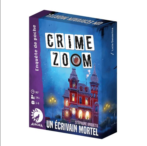 crime zoom un écrivain mortel