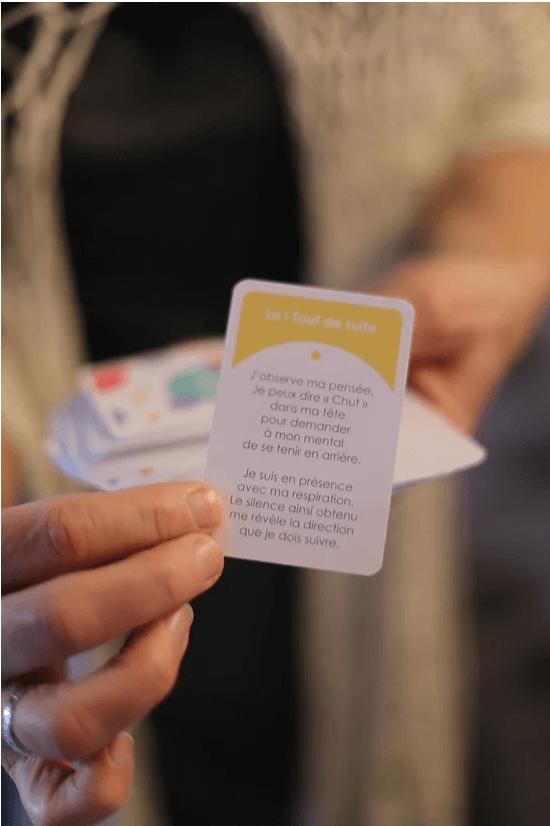 Actes conscients le jeu de cartes outil relationnelac