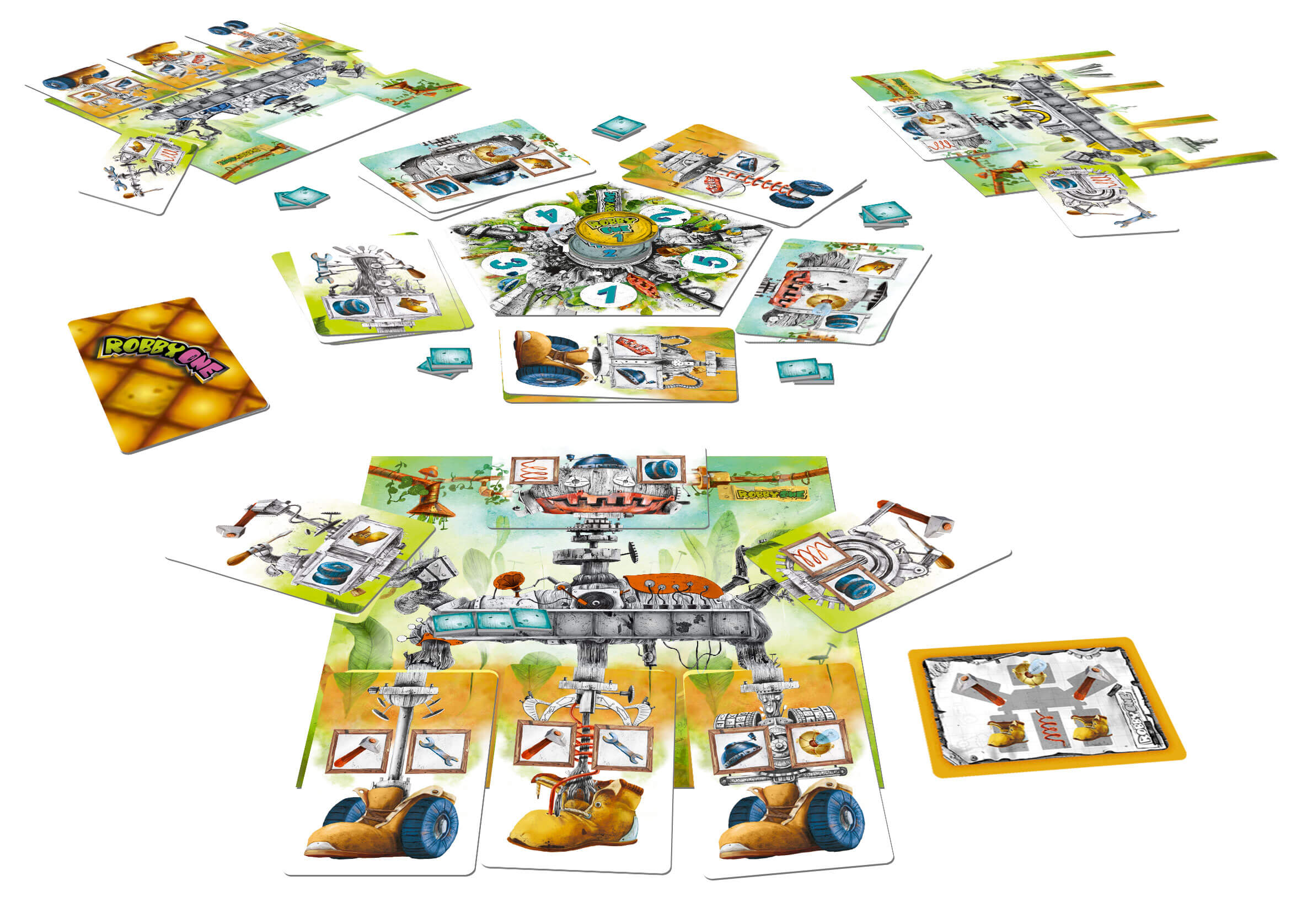 robby-one-table jeu cooperatif